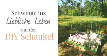 DIY Schaukel