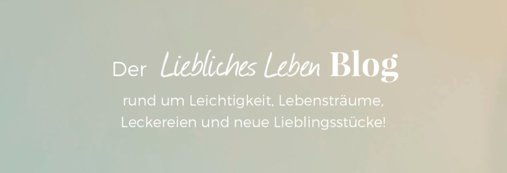 Lieblicher Blog Text