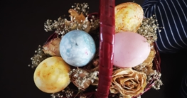 Ostereier färbe