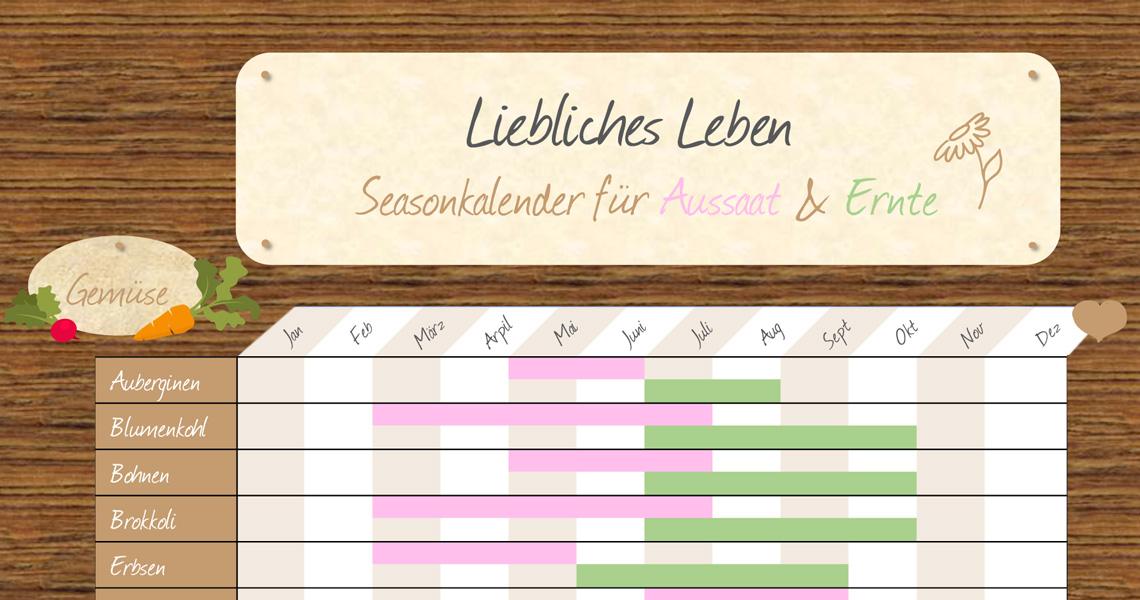Saisonkalender blog