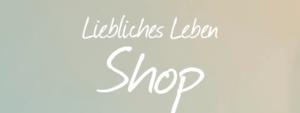 Shop Liebliches Leben Sidebar