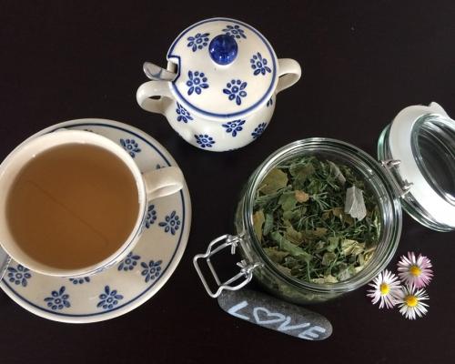 Tee aus dem Garten